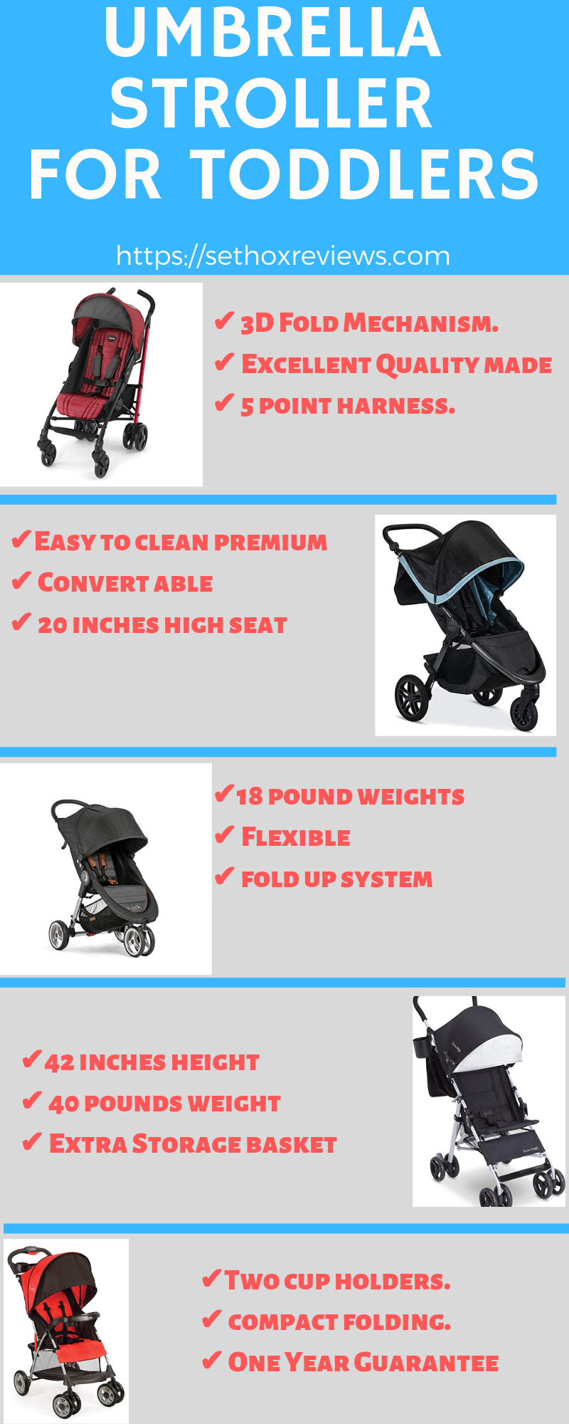 umbrella-stroller-for-toddler-infographics